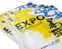 EXPO Koraichi campagne print