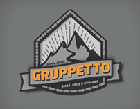 Logo for Gruppetto cycling crew.