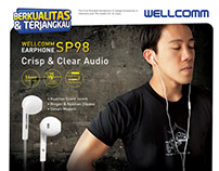 Wellcomm Earphone SP-98