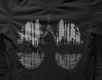 lungs t-shirt print