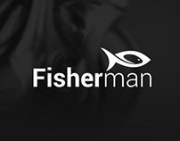 Fisherman - web store layout