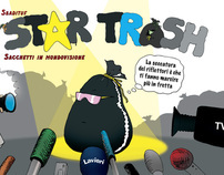 """STAR TRASH"" The Garbage's Comicbook (Lavieri Publish.)"