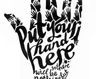 Put Your Hand Here - Tattoo