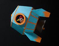 Raven's dioramas