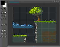 Pyxel Edit pixel art graphics editor