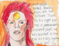 16 Things About David Bowie - Illustrated
