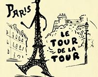 Carnet de voyage n.2 - France - by Andrea Ferolla
