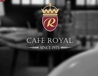 Royel Cafe Logo