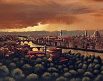 Raining Florence