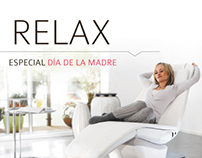 Mothers Day Ad · Panasonic massage chair