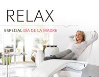 Mothers Day Ad · Panasonic massage chair
