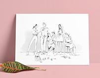 LADYGANICS // beauty illustration