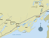 Ontario Waterway Cruises Inc Cartography Project