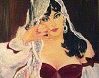 « Carmelita » |Oil Painting