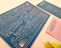 Tortoise Belly Wedding Invitations