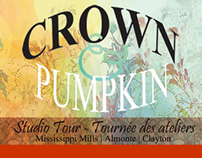 Crown and Pumpkin Studio Tour Website and Project