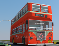 BEST Mumbai double decker bus