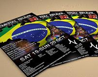 Ephemeral Brazil Poster