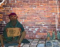 Beggars Birds and Burgers