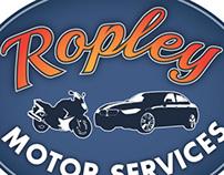 Ropley Garage logo concepts