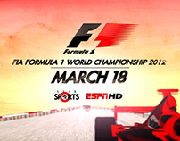 ESPN STAR SPORTS / FORMULA ONE 2012 / LAUNCH CAMPAIGN