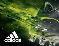 Adidas F50 Ad Campaign
