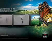 "AMD Firepro Campaign - ""Butterfly"""