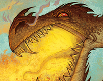 New Illustrated book of Dragons