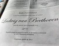 Esquelas de Beethoven