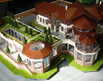 Architectural model. М 1:100