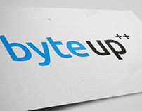 Разработка названия и лого софтверной компании ByteUp