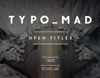 TYPOMAD OPEN TITLES