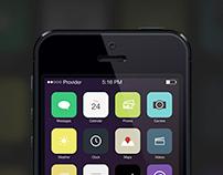 iOS 7 icons redesign