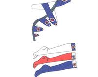 Design produit: chaussure pour Vincent Rubin