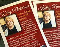 Speaker Rack Cards 2013