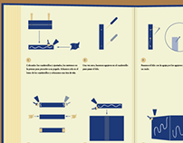 Infography about handmade binding