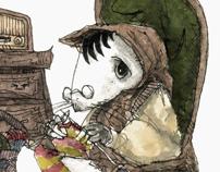 Illustrations for Lyudmila Ultskaya's Tales 2009