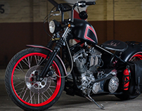 Rev Tech Custom Chopper