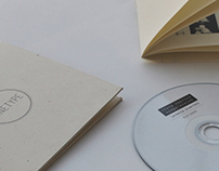 Cd cover and booklet