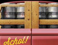 Lakewood Brewing Van Wraps