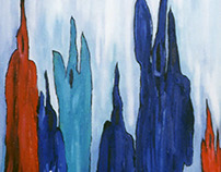 « Âmes » |Acrylic Painting