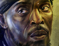Omar Little - An Illustrated Print