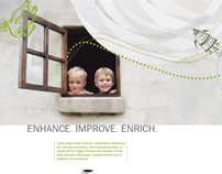 Amway Ad Campaign: Enhance. Improve. Enrich. 1 of 2