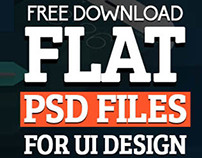 50+ High Quality Free Flat PSD Files - Download