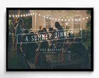 A Summer Dinner