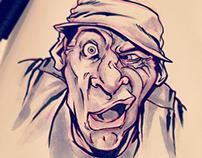 Inktober Day 7: Ernest