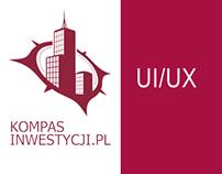 KompasInwestycji.pl  - UI/UX design