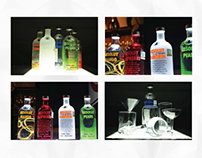 Absolut product shooting
