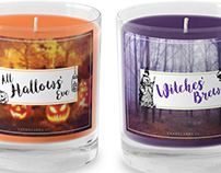 Halloween Candle Packaging