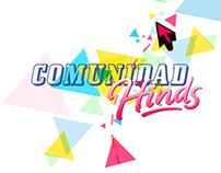 Comunidad HInds - Campaña digital